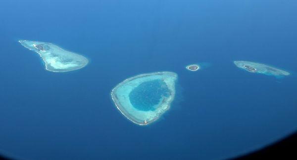 珊瑚岛 甘泉岛 羚羊礁 金银岛